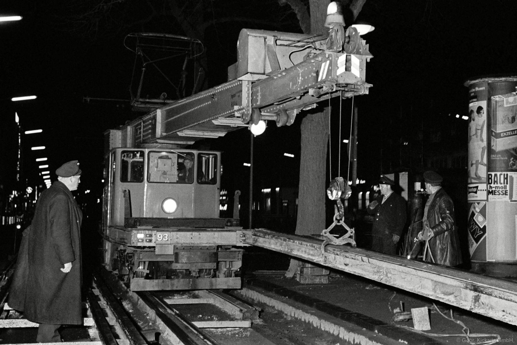 GALERIE OSTWALL NACHTSCHICHT 1966