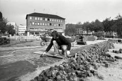 GALERIE STRASSENBAU OSTWALL/SEIDENWEBERHAUS 1975